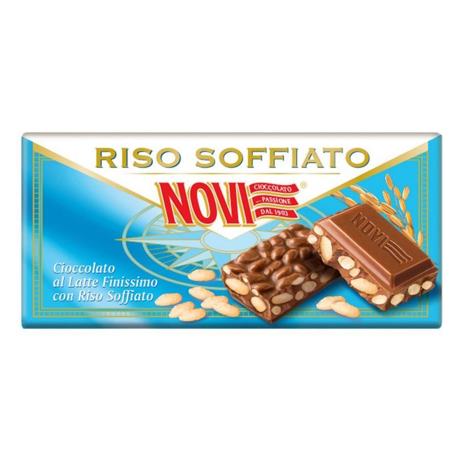 Novi Chocolat au Lait avec Riz Soufflé 90g