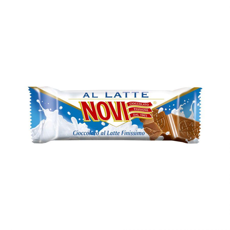Barretta Cioccolato al Latte Novi 25g