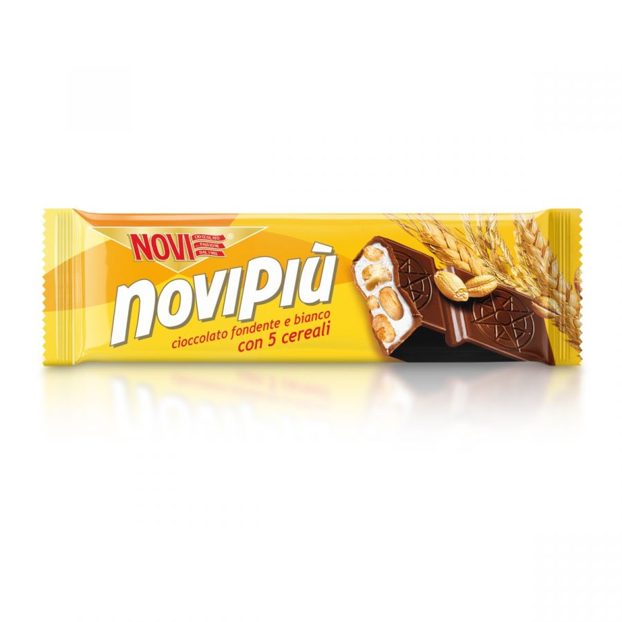 Novipiù Fondente e 5 Cereali 28g