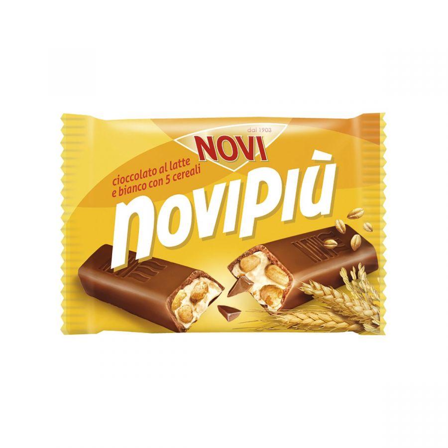 Novipiù al Latte e Bianco con 5 Cereali 52g
