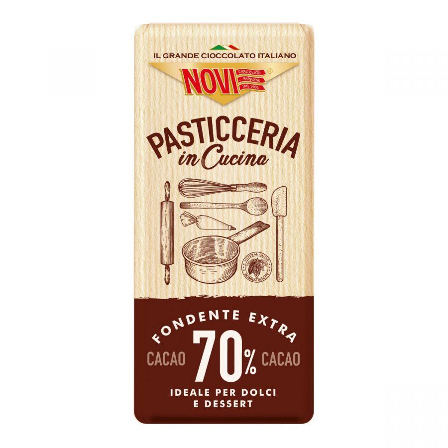 Novi Tavoletta Pasticceria in Cucina 70% Cacao 115g
