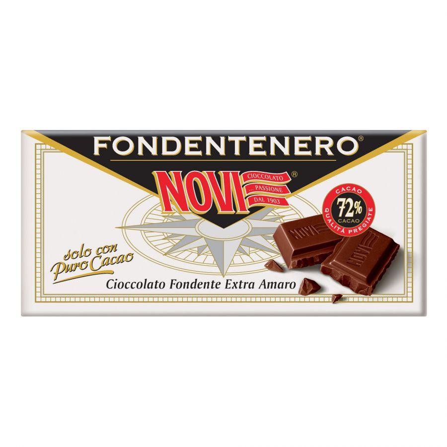 Novi Tavoletta Fondentenero 72% Cacao 100g