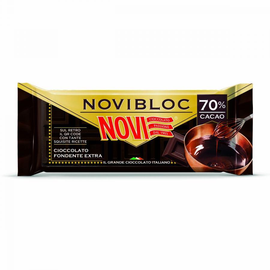 Novibloc Fondente 70% Cacao 140g
