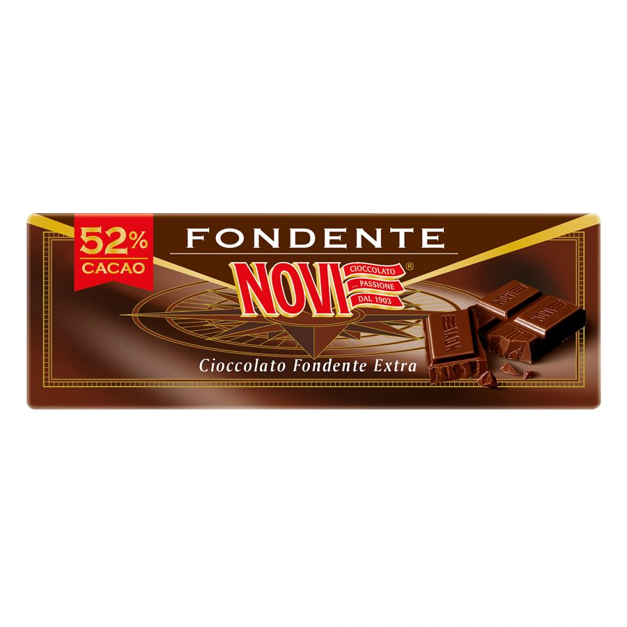 Novi Tavoletta Fondente Extra 52% Cacao 200g