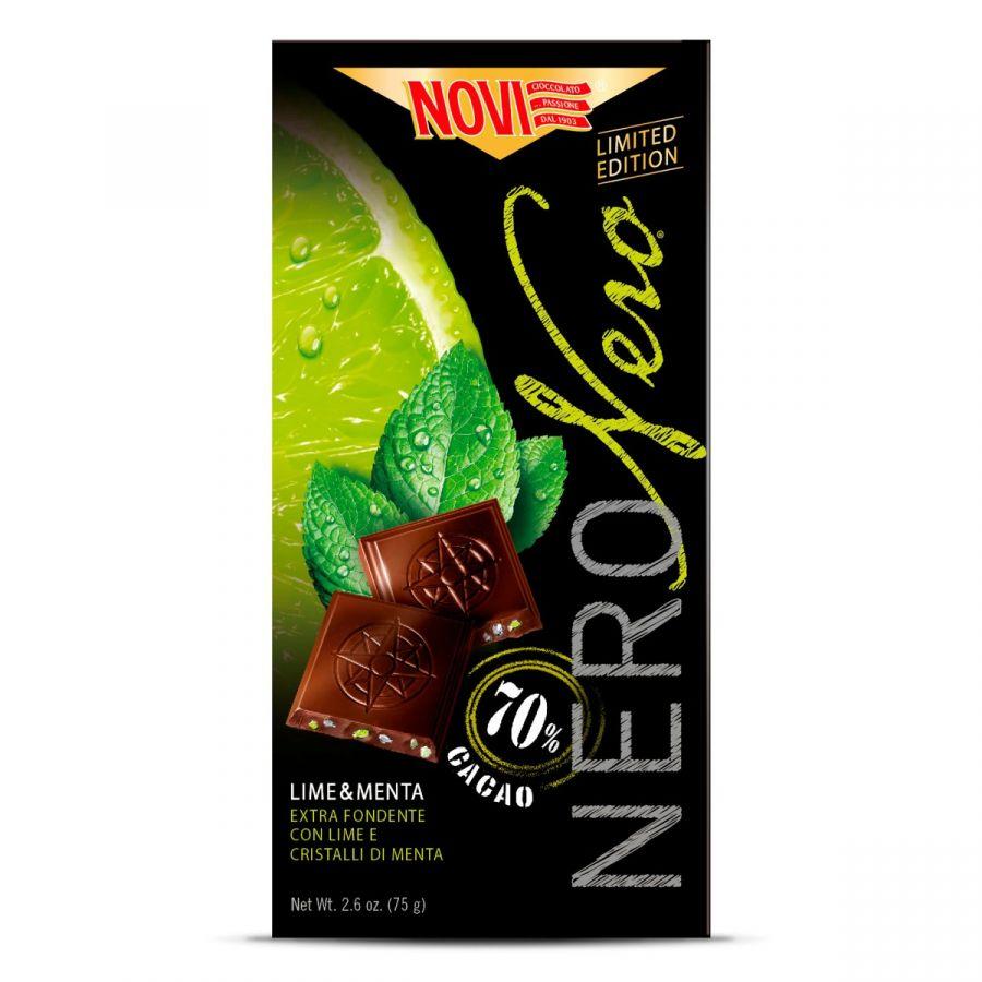 Nero Nero Extra Noir Écorces de Limette et Cristaux à la Menthe 75g