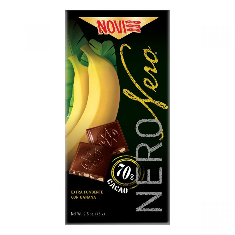 Novi Nero Nero con Banana 75g