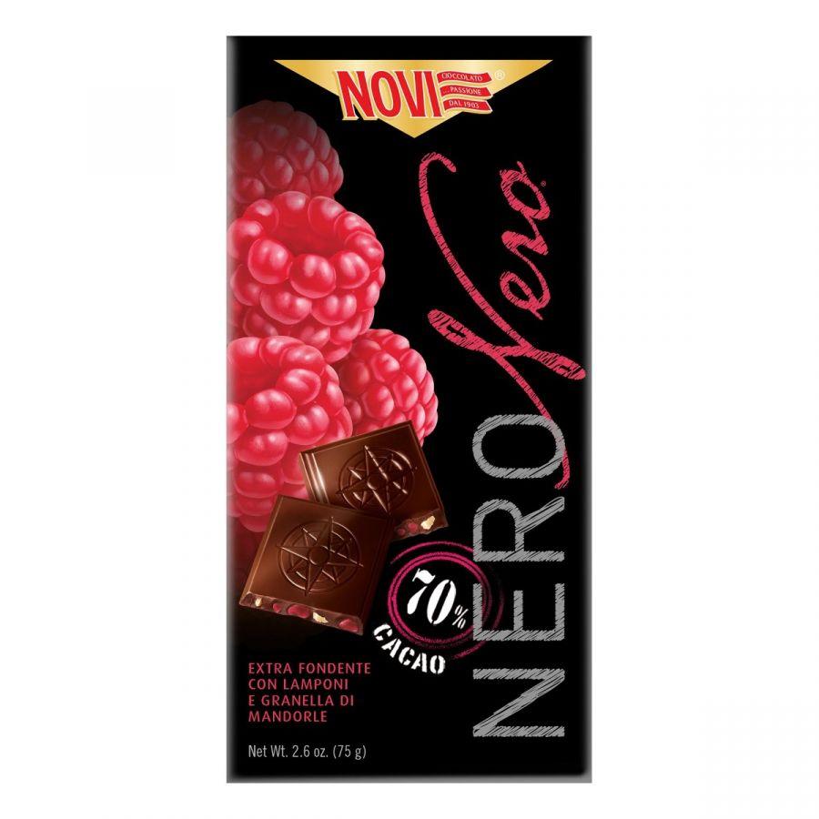Novi Nero Nero Lamponi e Mandorle 75g