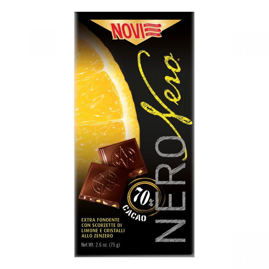 Novi Nero Nero Limone e Zenzero 75g