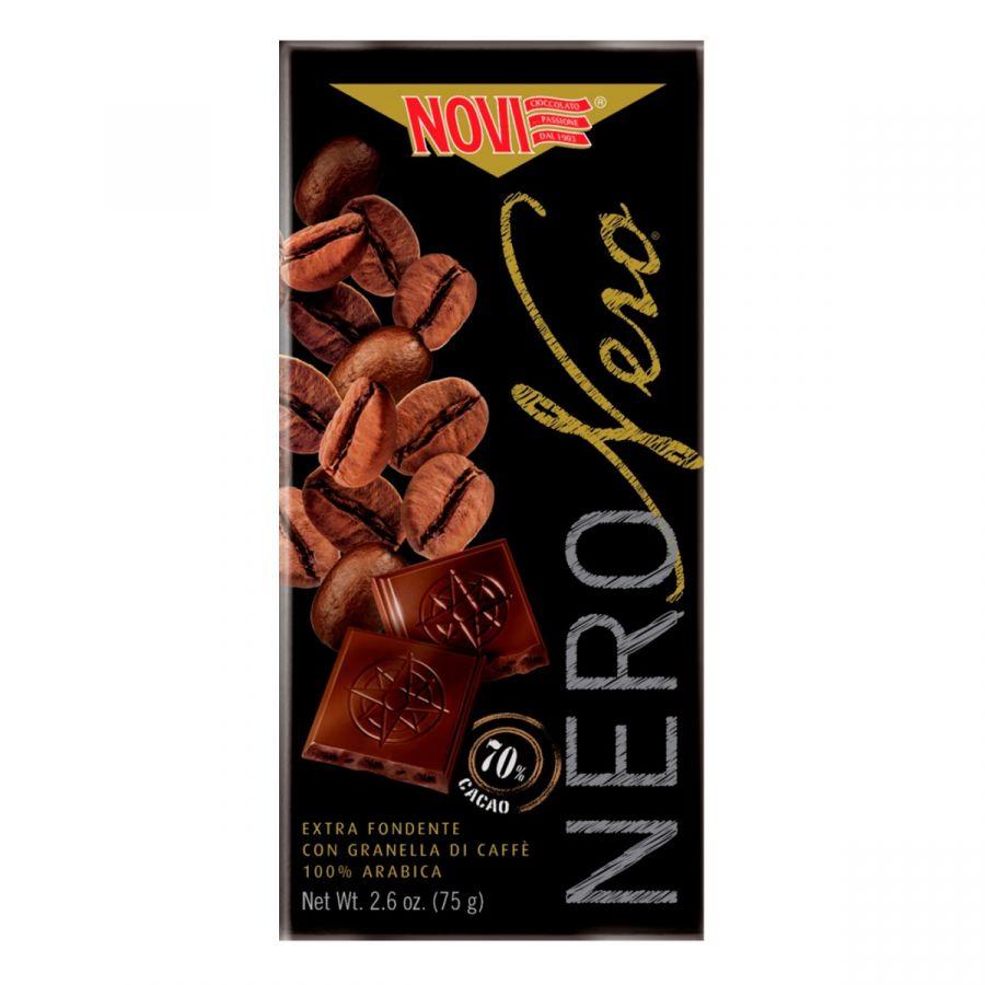 Novi Nero Nero con Granella di Caffè 75g