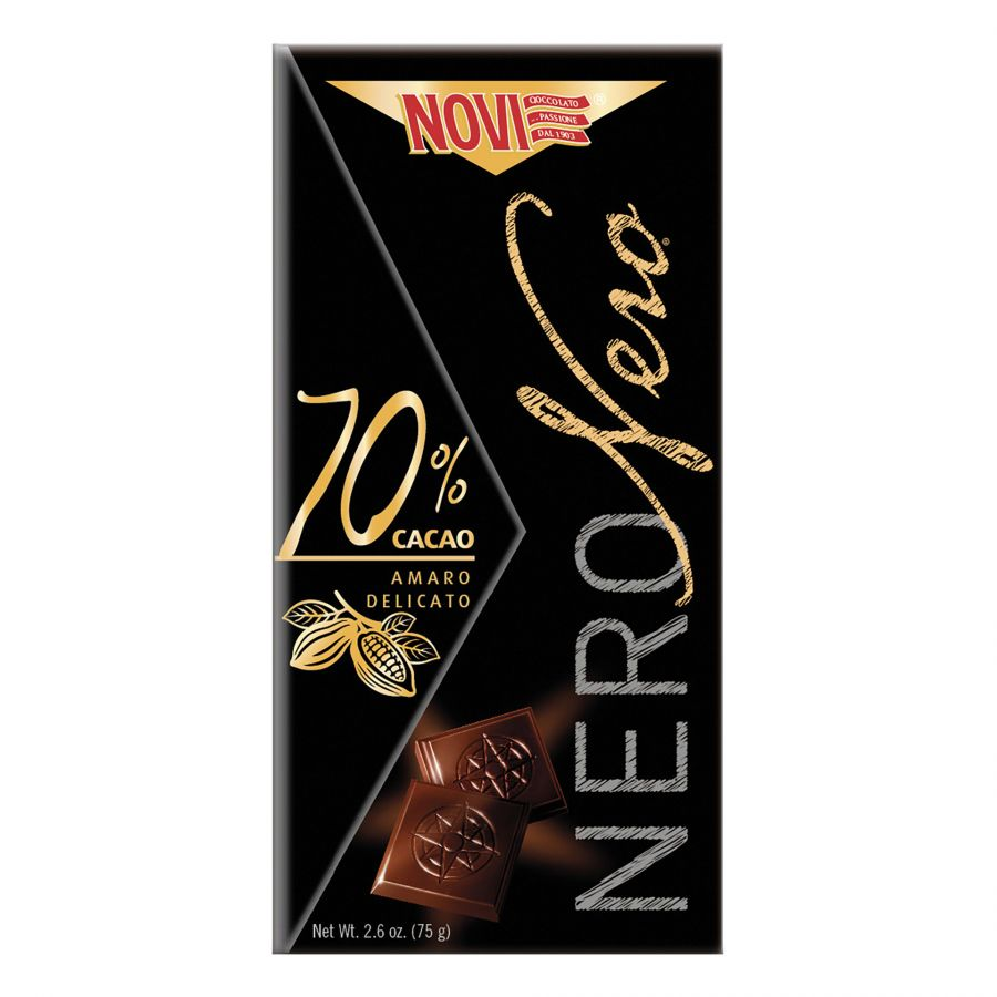 Novi Nero Nero 70% Cacao 75g