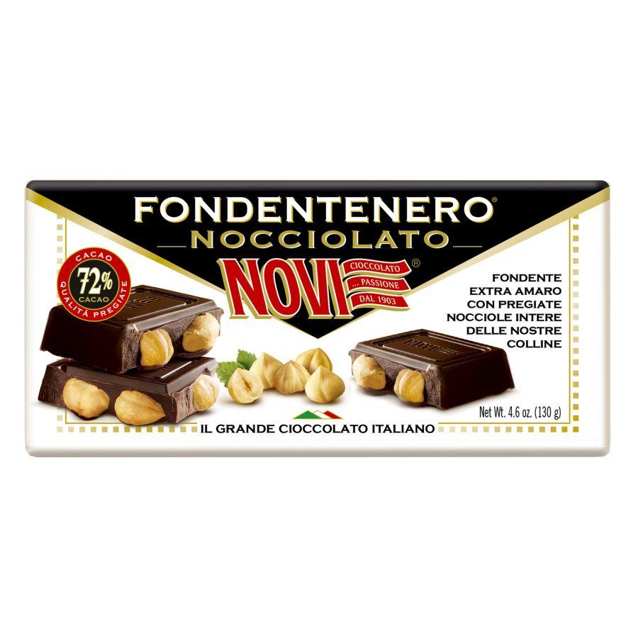 Novi Fondentenero Nocciolato 130g
