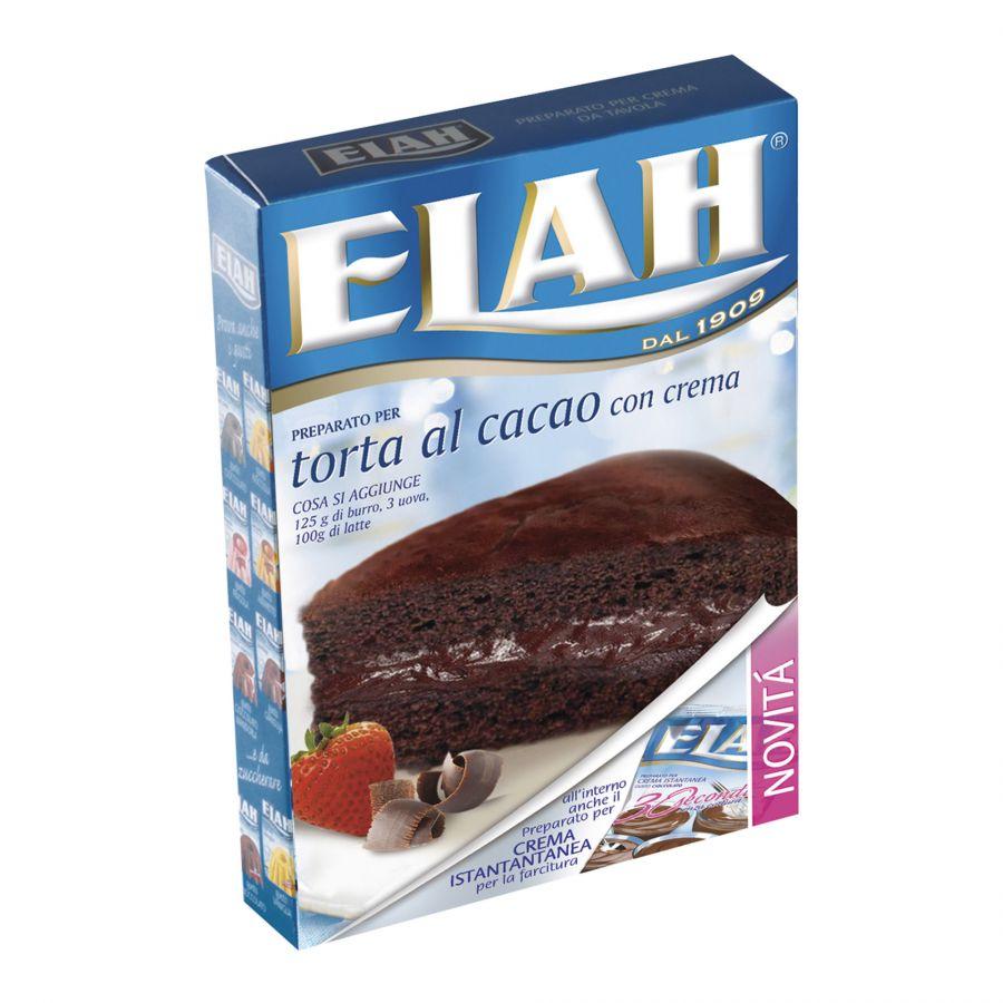 Preparato per Torta al Cacao con crema