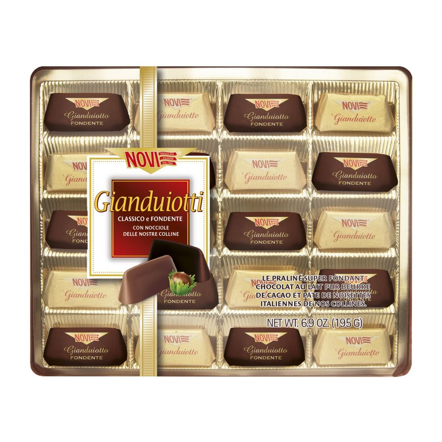Cristal Gianduiotti Assortiti 195g