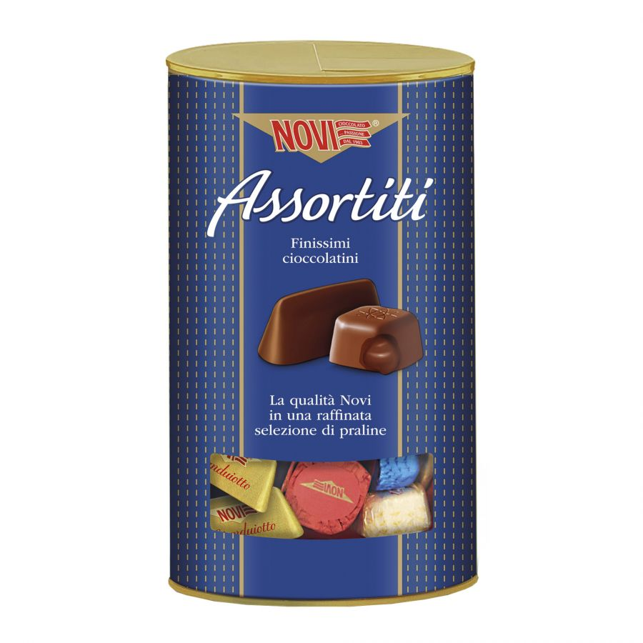 Visual Box Cioccolatini Assortiti Novi 350g