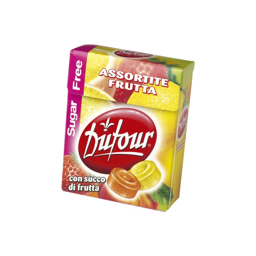Sugarfree Assortite Frutta - Astuccio da 16g